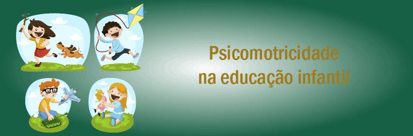 curso online Psicomotricidade na educação